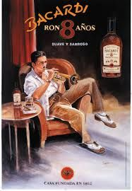 The Rum Diaries (in pictures): Bacardi posters from to 1999 tell story of the man behind the rum Vintage Advertising Posters, Vintage Travel Posters, Vintage Advertisements, Havana Nights Party Theme, Havana Party, Vintage Cuba, Vintage Ads, Bacardi Rum, Rum Rum