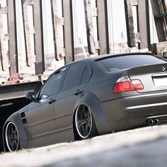 "@superstreet's photo: ""Low-Wider Sedan #superstreet #eurotuner #bmw #e46"""