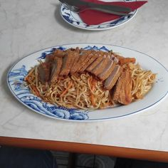 Fried #duck #breast with #asia #noodles for #lunch today at Asia #Sushi #Bar #Tokyo in #Leipzig #Eutritzsch.  Tasty!