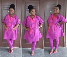 An a wedding guest {bella} looking stunning in aso-ebi – the fabric/colours of the day, at a traditional engagement or - BellaNaija Weddings. African Dresses For Women, African Print Dresses, African Print Fashion, Africa Fashion, African Attire, African Wear, African Women, African Prints, Nigerian Dress