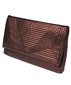 Selfish Aztec clutch in bronze, Designer Bags Sale, Selfish, Secret Sales
