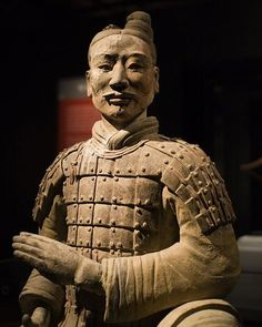 The detailing is unbelievably fine. Ancient China, Ancient Art, Ancient History, Sculpture Art, Sculptures, Terracotta Army, Houston Museum, History Of India, My Art Studio