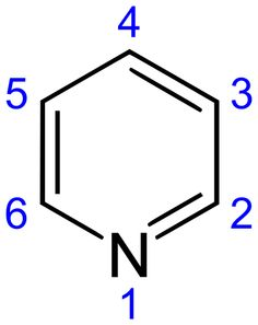Pyridine is a basic heterocyclic organic compound with the chemical formula C5H5N. It is structurally related to benzene, with one methylidyne (CH) group replaced by a nitrogen atom.