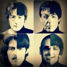 Now and then ... a really cool way to see the difference aging makes. Paul McCartney's is the best.                                                                                                                                                      More