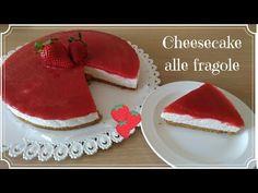 Cheescake alle fragole - ricetta perfetta - YouTube Cheesecakes, Bon Appetit, Biscotti, Pudding, Sugar, Cookies, Desserts, Birthday, Food