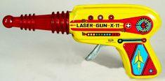 Laser Gun - Vintage Tin Toy