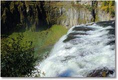 Upper Mesa Falls, Henrys Fork of the Snake River, Idaho; Targhee National Forest