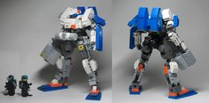 https://flic.kr/p/d2dDrq | United Earth Federation Ground Arm - MA-02F2U Aqua Seraphim | The Aqua Seraphim was an aquatic use Kampfer derived from the Seraphim III frame. The mainstay aquatic Kampfer of the UEF forces during the First Colony War had previously been the Graue Hai, however, the Graue Hai was infamous for being incredibly useless on land and not even that high performance in the water. The Aqua Seraphim entered use just a few months after the end of the First Colony War and…
