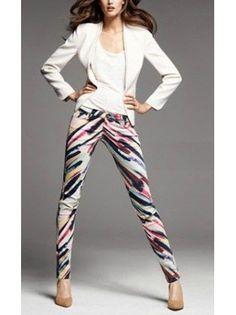 Colorpanted Runway Inspried Skinny Pants