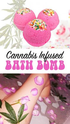 """Vanilla Cupcake"" CBD Bath Bomb"