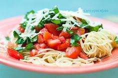 capellini pomodoro