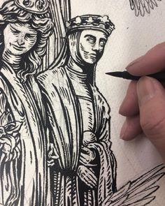 Drawing statues, kinda day.