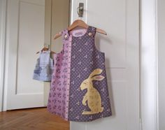 So ein lieber Hase! Diy Kits, Summer Dresses, Fashion, Simple, Kids Wear, Sewing Patterns, Dressing Up, Creative, Moda