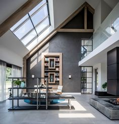 Style At Home, Morden House, Home Greenhouse, Dream House Exterior, House Rooms, Modern Interior Design, My Dream Home, Living Room Designs, Building A House