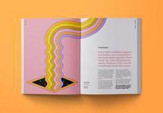 MIMIM Zine // Woodstock — Shanti Sparrow Page Layout Design, Magazine Layout Design, Book Layout, Graphic Design Books, Graphic Design Layouts, Brochure Design, Design Editorial, Editorial Layout, Mise En Page Magazine