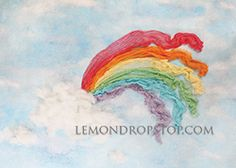 Rainbow Fabric LemonDrop Shop