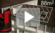 屋根面積の測定方法