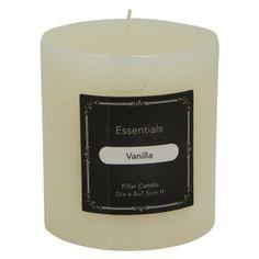 Essentials Scented Pillar Candle