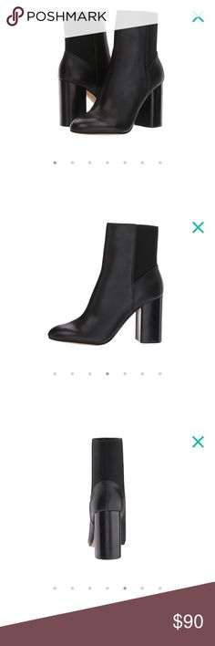 NWT Dolce Vita Ramona Black Leather Ankle Booties Brand New in box Dolce Vita Ramona Black Leather Ankle Booties size 9. Have not been worn, see Zappos link for reference: https://m.zappos.com/p/dolce-vita-ramona-black-leather/product/9011852/color/72 Dolce Vita Shoes Ankle Boots & Booties