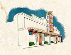 Dan's Restaurant | Flickr - Photo Sharing! Streamline Moderne, Mid-century Modern, Exotic, Art Deco, Mid Century, Menu, Concept, Restaurant, Stone