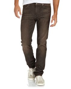 Slimmy-Cut King River-Canyon-Wash Jeans - Last Call by Neiman Marcus $113