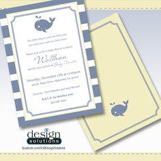 Baby Shower Invites / Invitations! Custom designs and more affordable then DYI websites. FB/SLMDesignSolutions - Please repin my friends! :)