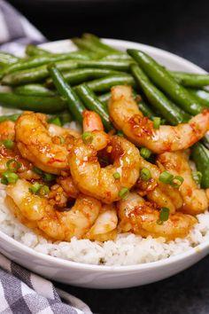 Frozen Cooked Shrimp, Frozen Shrimp Recipes, Cooked Shrimp Recipes, Seafood Recipes, Honey Garlic Sauce, Garlic Shrimp, Grilled Shrimp, Sous Vide Shrimp Recipe, Best Pressure Cooker