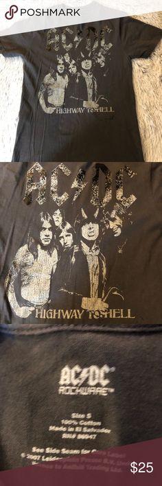 AC/DC tee shirt AC/DC band tee shirt Tops Tees - Short Sleeve