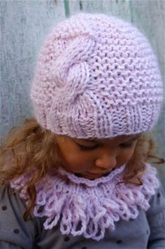 Knitting For Kids, Loom Knitting, Knitting Projects, Baby Knitting, Crochet Baby Hats, Knitted Hats, Knit Crochet, Bennies Hats, Knitting Patterns