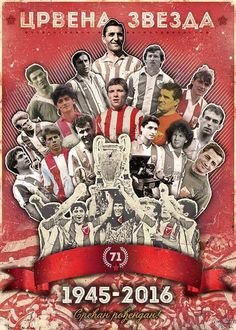 Champion`s football (soccer) club Red Star, Belgrade Serbia Skull Wallpaper Iphone, Red Star Belgrade, Belgrade Serbia, Football Soccer, Basketball, Serbian, Friend Photos, Sport, Vintage Cards