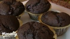 Garlic Bread, Cake Cookies, Muffins, Cupcake, Goodies, Food And Drink, Favorite Recipes, Sweets, Chocolate