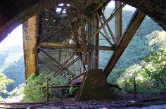 Ponte da Grota Funda-Paranapiacaba-SP | Construída em 1901 e abandonada em 1981