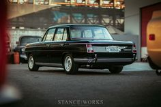 The BMW that Saved the Marque – The Collector's 1968 1800 Neue Klasse Sedan
