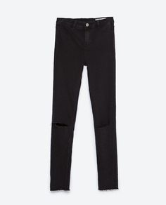 ZARA - COLLECTION AW15 - HIGH WAIST JEGGINGS