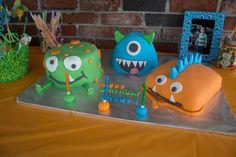 Monster cakes! #monster #cake