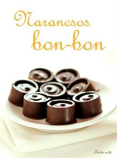 Narancsos mascarponés bonbon | Dolce Vita Mousse, Winter Food, Fudge, Food And Drink, Gluten Free, Sweets, Candy, Homemade, Chocolate