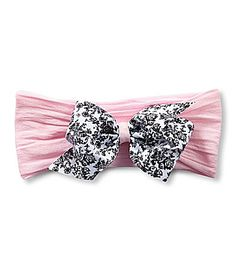 Starting Out Toile Bow Headband #Dillards