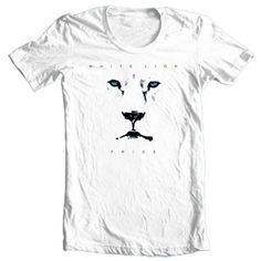White-Lion-Pride-T-shirt-80s-heavy-glam-metal-concert-rock-graphic-cotton-tee