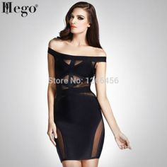Cheap party dresses, Buy Quality dress fashion directly from China dress wholesale Suppliers: wholesale 2018 New summer fashion off the shoulder bodycon bandage sexy mesh white black cocktail party dresses Cheap Party Dresses, Black Off Shoulder, Online Dress Shopping, Bodycon Dress, Bandage Dresses, Prom Dress, Sexy Women, Fashion Dresses, Clothes For Women