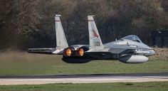 F-15 LOW PASS