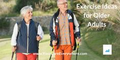 Finding ways to get exercise as you get older is a smart and easy way to stay fit and improve your health. Exercise is just as important in your older years as when you were younger.  Explore ideas for exercising as you get older.