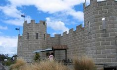 The Castle Cafe, Tirau New Zealand - not a real castle - a restaurant