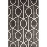 Found it at AllModern - City Wool and Art Silk Hand Tufted Pewter/White Area Rug