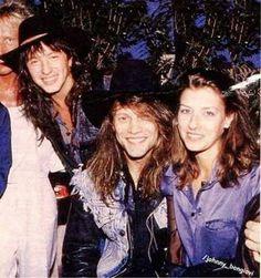 Richie Sambora, Jon Bon Jovi and wife Dorothea Hurley