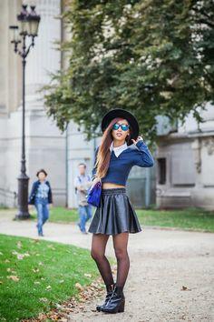 Rosa Pel's blog :FLAT MATTE BLACK REVO COLOR LENS WAYFARER SUNGLASSES 8025