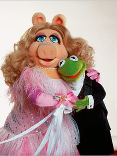 Kermie and Miss Piggy