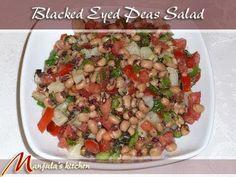 Black Eyed Peas Salad
