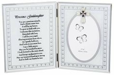 Precious Goddaughter Christening Photo Frame Gift New Boxed has been published on http://www.discounted-baby-apparel.com/2013/10/12/precious-goddaughter-christening-photo-frame-gift-new-boxed/