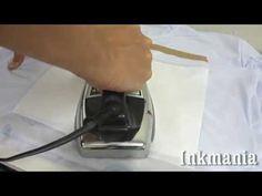 Aplicar transfer sublimático com ferro de passar roupas - YouTube