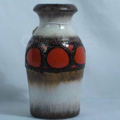 Retro Mid-Century Scheurich West German Vase